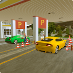 Sports Car Parking Pro & Gas Station Car Wash