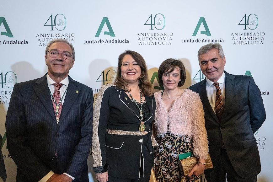 Rogelio Velasco, Carmen Crespo, Montserrat Zamorano y Miguel Vargas.