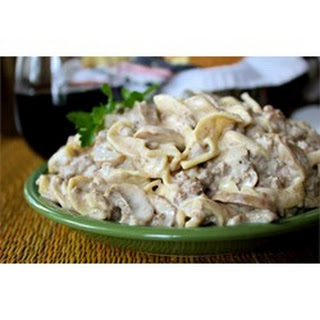 Simple Hamburger Stroganoff