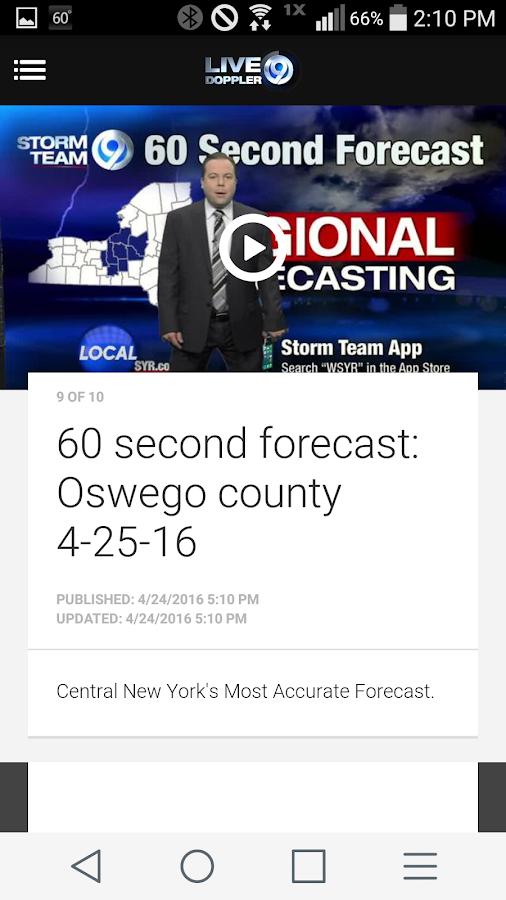 Storm Team   WSYR Syracuse  screenshot Google Play