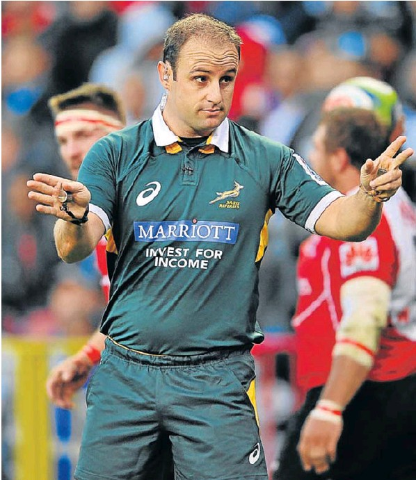 South African referee Stuart Berry will officiate at Saturday's PRO14 semifinal
