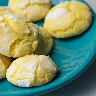 Lemon Crinkle Cookies From Scratch.