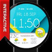 Pure Material Design WatchFace