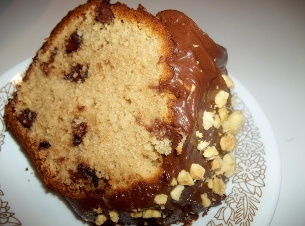 ~ Peanut Butter Chocolate Chip Cake ~ Recipe