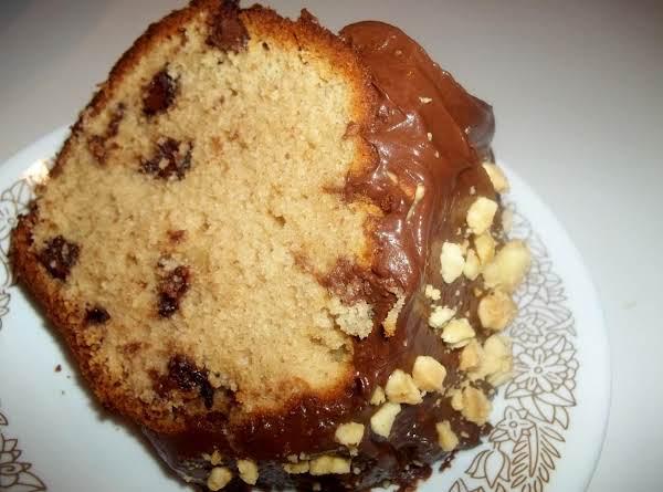 ~ Peanut Butter Chocolate Chip Cake ~