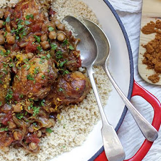 Chicken and Chickpea Tagine.