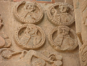 Photo: Stone carvings at the Armenia church of the Holy Cross, Akdamar Island, Van Lake