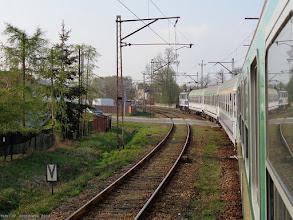 """Photo: EP07-544, TLK """"Wokulski"""" Łódź Kaliska - Warszawa Gdańska {szlak Skierniewice Park - Skierniewka; 2014-04-12}"""