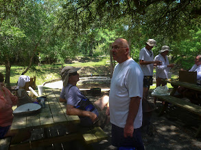 Photo: lunch at the River Rendezvous
