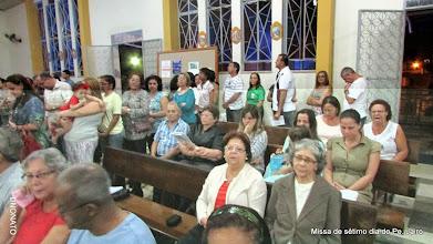 Photo: Missa de Sétimo dia da Páscoa do Pe Jairo - Comunidade Matriz Santa Rita de Cássia - Cruzeiro do Sul