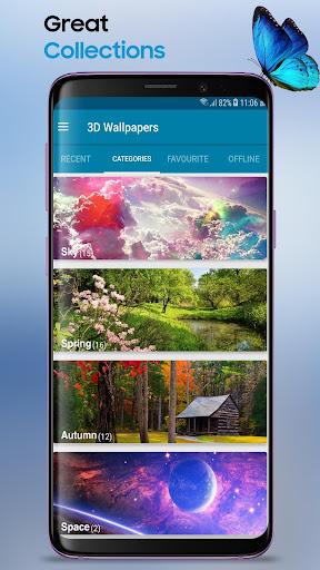 3D Wallpapers Backgrounds HD 1.9 screenshots 2