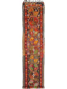 Kilim Fars Semi-Antique