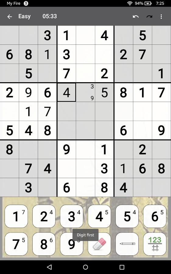 Sudoku competition app