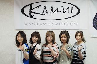 Photo: 大阪クィーンスOP決勝ベスト16に残ったカムイプロスタッフ。左から、光岡純子、久保田知子、藤田知枝、山内公子、新保まり子。