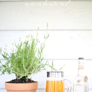 Peach Sweet Tea | Kentucky Derby Drink.