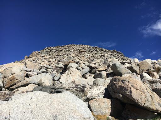 The last 400 feet of Volunteer Peak