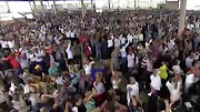 Thousands of fans gathered for the sermon by Shepherd Bushiri at the Pretoria Show Grounds on  February 10 2019.