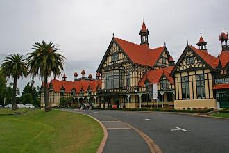 Photo: Badehaus in den Governments Gardens, Rotorua