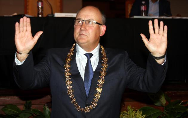 Nelson Mandela Bay mayor Athol Trollip.
