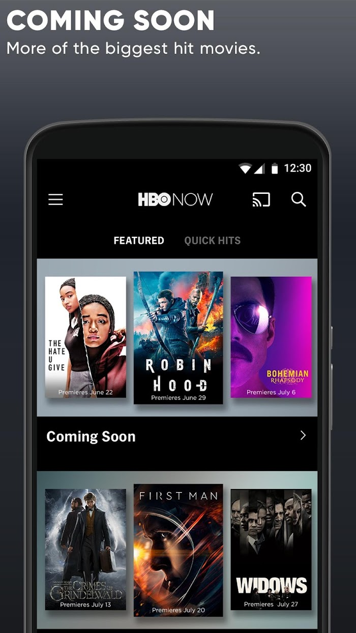 HBO NOW: Stream TV & Movies v22 0 0 540 For Android APK