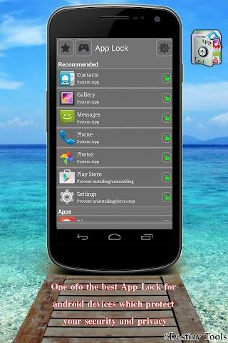 android AppLock Advance Screenshot 3
