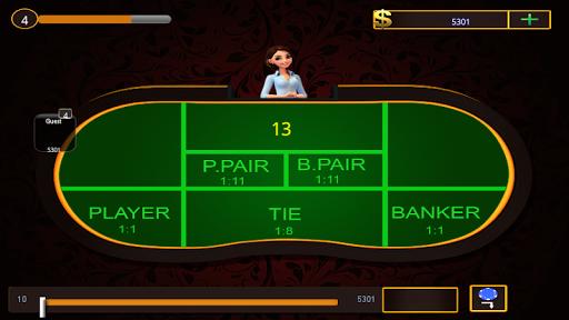 Baccarat Multiplayer Casino