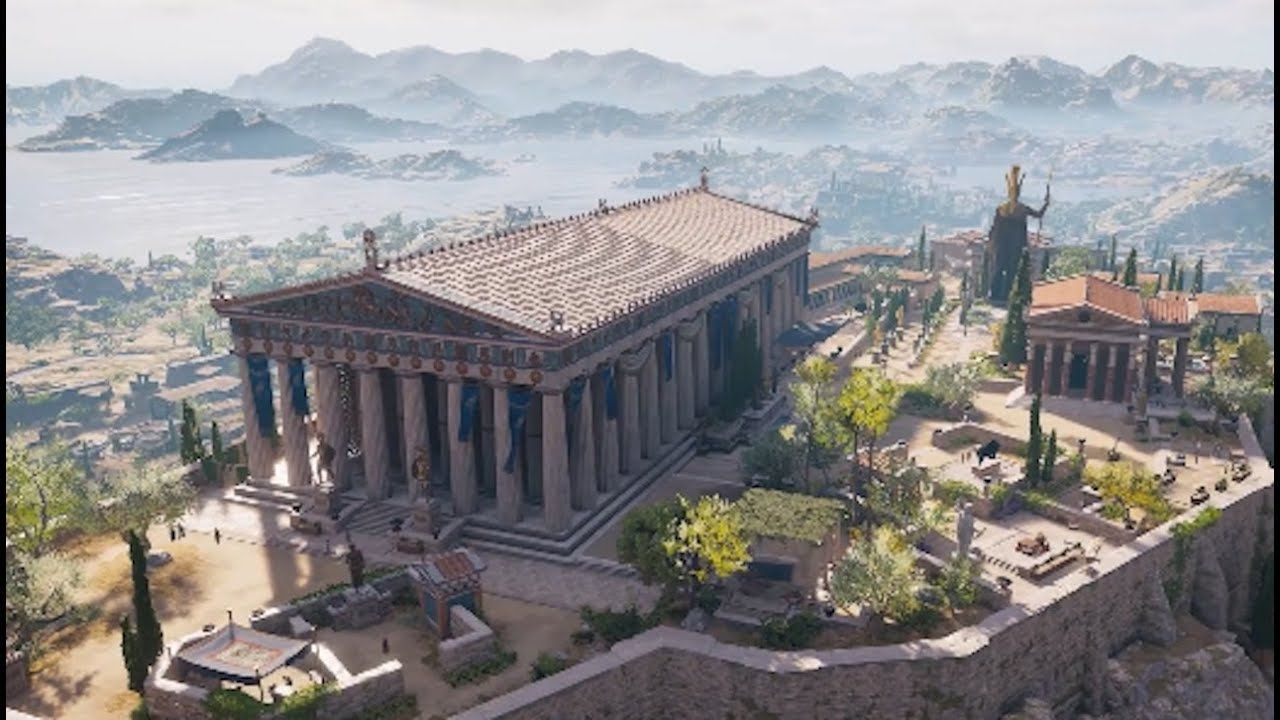 The latest Assassin's Creed Video game has the the real-world location of ancient Greece.