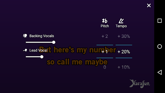 KaraFun - Karaoke Singing- screenshot thumbnail