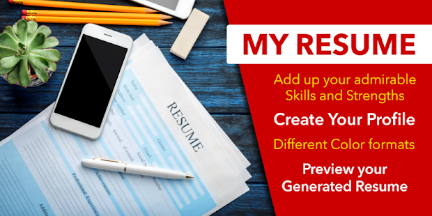 App Resume Builder App Free CV Maker with PDF Format APK for Windows Phone