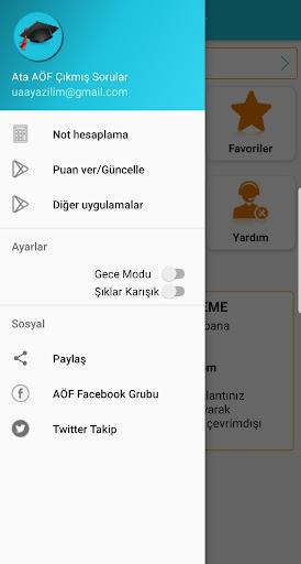 ATATÜRK ÜNİVERSİTESİ AÖF(ATA AÖF) ÇIKMIŞ SORULAR screenshot 4