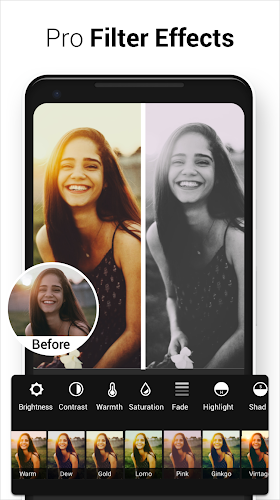 Photo Editor Pro Android App Screenshot