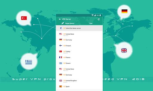 Super VPN Proxy Master Free Speed  2019 1.6 screenshots 5