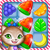 Gummy Gush Match-3 Puzzle