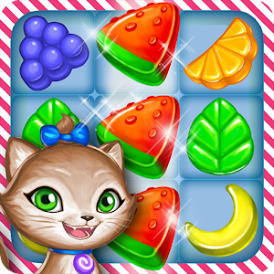 Gummy Gush Match-3 Puzzle for PC and MAC