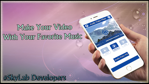 Add Audio Video : Video Mixer