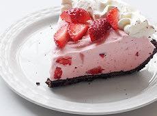 Strawberry Cream Freeze Recipe