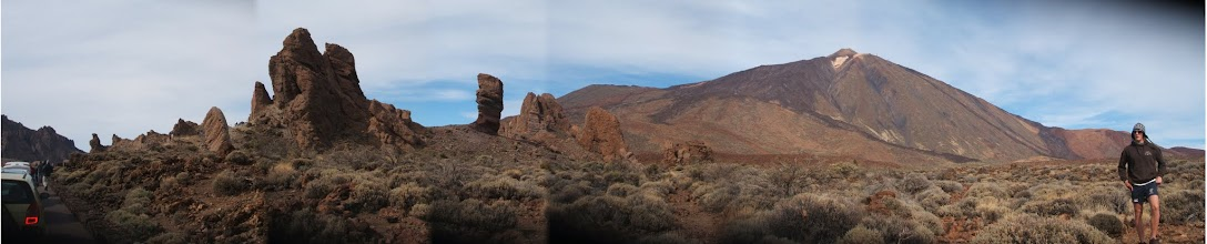 Photo: Teide viewed from the car park at Roques de Garcia.