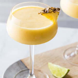 Frozen Pineapple Mango Daiquiri.