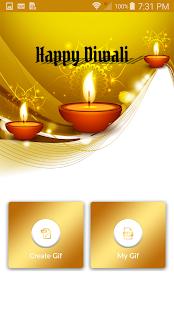 Make GIF With Name - Diwali 2017 - náhled