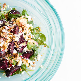 Roasted Beetroot and Cauliflower Salad