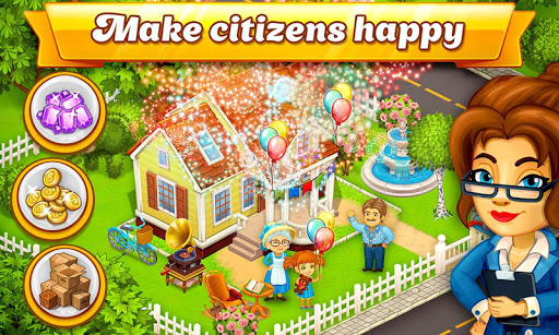 Cartoon City: farm to village. Build your home  screenshots 2
