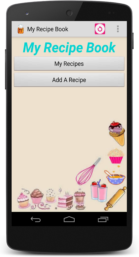 My Recipe Book- screenshot