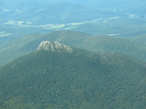 Photo: Aerial view of Camel's Hump