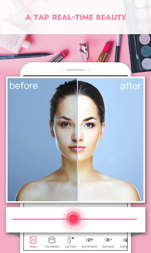 Pretty Makeup, Beauty Photo Editor & Snappy Camera 6.2 screenshots 1
