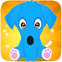 Pup- Lovable pet, animal party icon