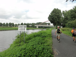 Photo: Wandelen langs de Schelde