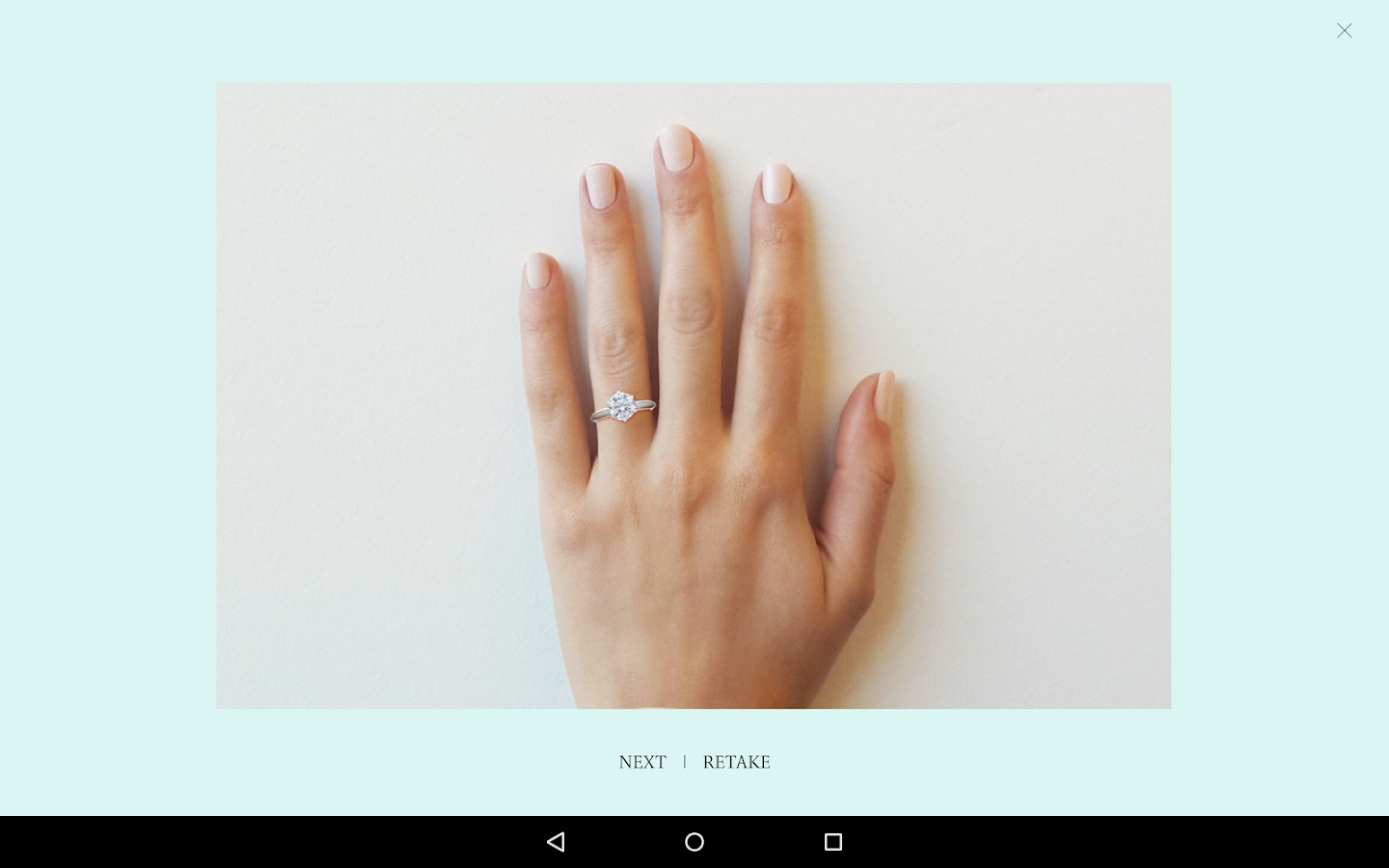 Tiffany Engagement Ring Finder Screenshot