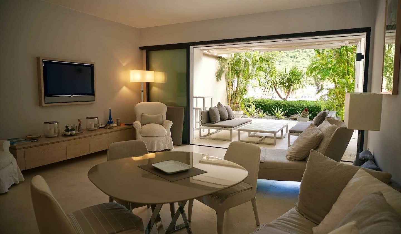 Appartement avec terrasse en bord de mer Saint Barthelemy