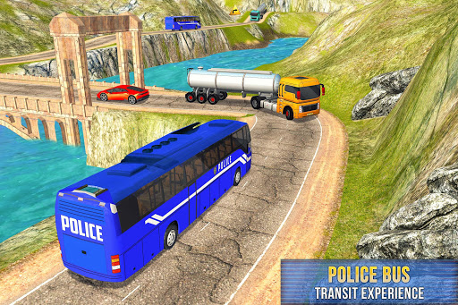 US Prisoner Police Bus: Bus Games 1.0 screenshots 4