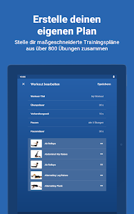 Fitify: Übungen und Trainingsplan zuhause Screenshot